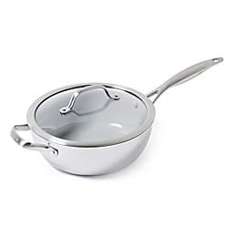 GreenPan™ Venice Pro Ceramic Nonstick 3.5 qt. Chef's Pan with Helper Handle