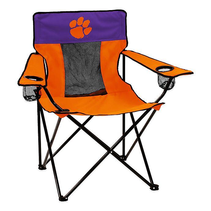 Alternate image 1 for Clemson University Elite Folding Chair
