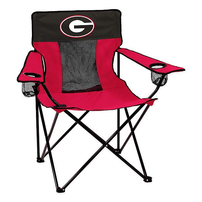 Alternate image 1 for University of Georgia Elite Folding Chair