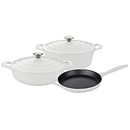 La Cuisine PRO 5-Piece Enameled Cast Iron Oval Cookware Set