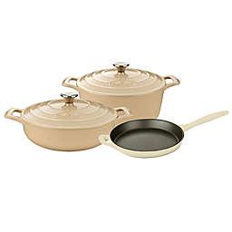 La Cuisine 5-Piece Enameled Cast Iron Round Cookware Set