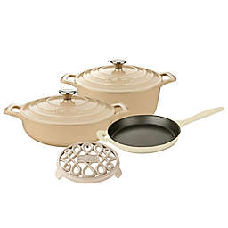 La Cuisine 6-Piece Enameled Cast Iron Round Cookware Set