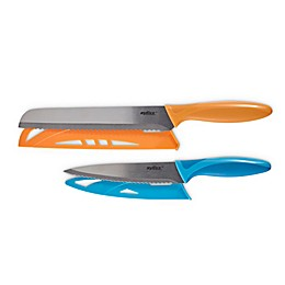 Zyliss® 2-Piece Stainless Steel Serrated Knife Set