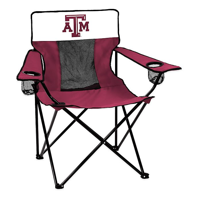 Alternate image 1 for Texas A&M University Elite Folding Chair