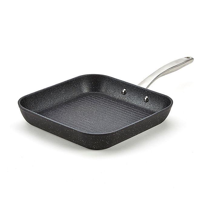 Alternate image 1 for Bialetti® Titan Nonstick 10.5-Inch Square Sauté  Pan in Black