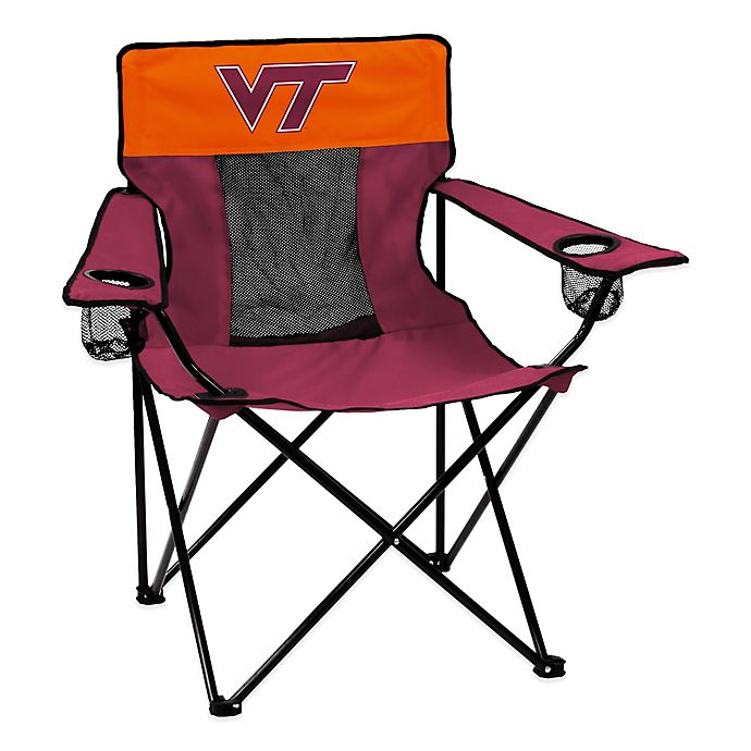 Alternate image 1 for Virginia Tech Elite Folding Chair