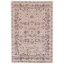 Feizy Rugs Soho Zam Area Rug in Cream/Grey