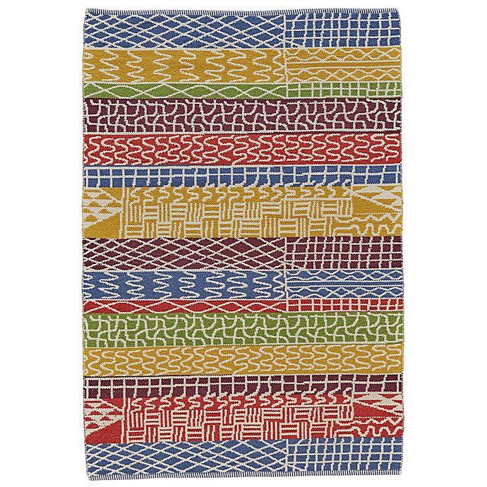 Alternate image 1 for Feizy Bashia Rainbow Stripe 8-Foot x 10-Foot Multicolor Area Rug
