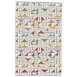 Feizy Bashia Geometric Multicolor Rug