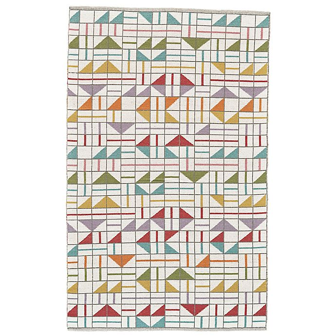 Alternate image 1 for Feizy Bashia Geometric 8-Foot x 10-Foot Multicolor Area Rug