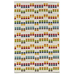 Feizy Bashia Rows Multicolor Rug