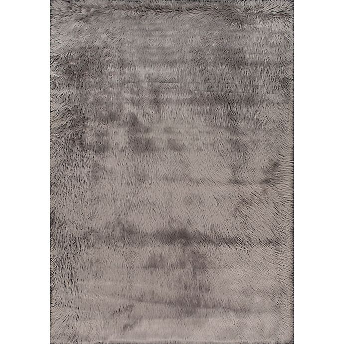 Alternate image 1 for nuLOOM Cloud Shag 5-Foot Square Area Rug in Grey