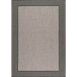nuLOOM Gris Indoor/Outdoor Area  Rug in Grey