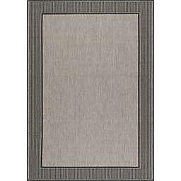 nuLOOM Gris Indoor/Outdoor 8-Foot 6-Inch x 13-Foot Area Rug in Grey