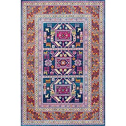 nuLOOM Tribal Marisela 8-Foot x 10-Foot Area Rug in Navy