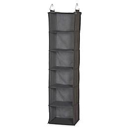 Household Essentials® 6-Shelf Hanging Closet Organizer in Grey