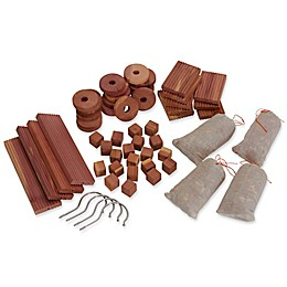 Household Essentials® Cedar Closet Storage Accessory Set in Natural