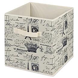 Home Basics® Paris Storage Cube