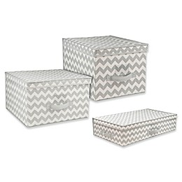 Home Basics® Chevron Storage and Organizer Collection