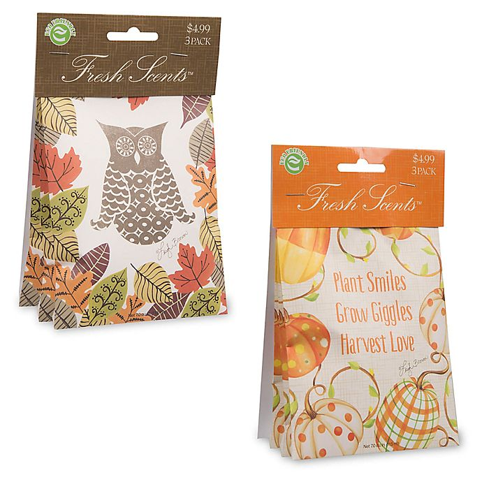 Fresh Scents Fall Scent Packets Collection Bed Bath
