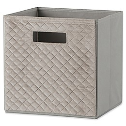 Real Simple® 10.5-Inch x 11-Inch Quilted Velvet Fabric Drawer