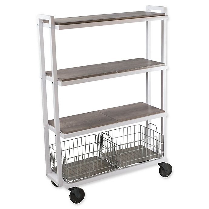 Alternate image 1 for Urb SPACE Transformable 4-Tier Cart System