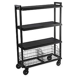 Urb SPACE Transformable 4-Tier Cart System in Black