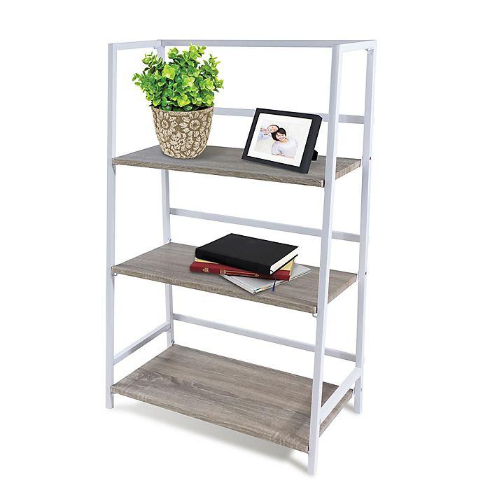 Alternate image 1 for 3-Tier Folding Shelf