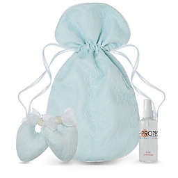 Protect My Shoes 4-Piece Bridal Shoe Stuffers, Bag and Fragrance Set in Blue