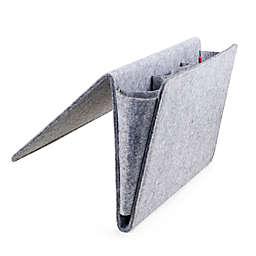 Kikkerland® Large Bedside Felt Storage Pocket in Grey