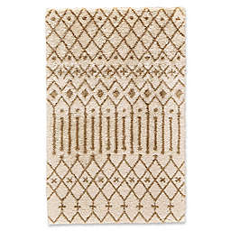 Feizy Noemie Area Rug in Ivory/Tan
