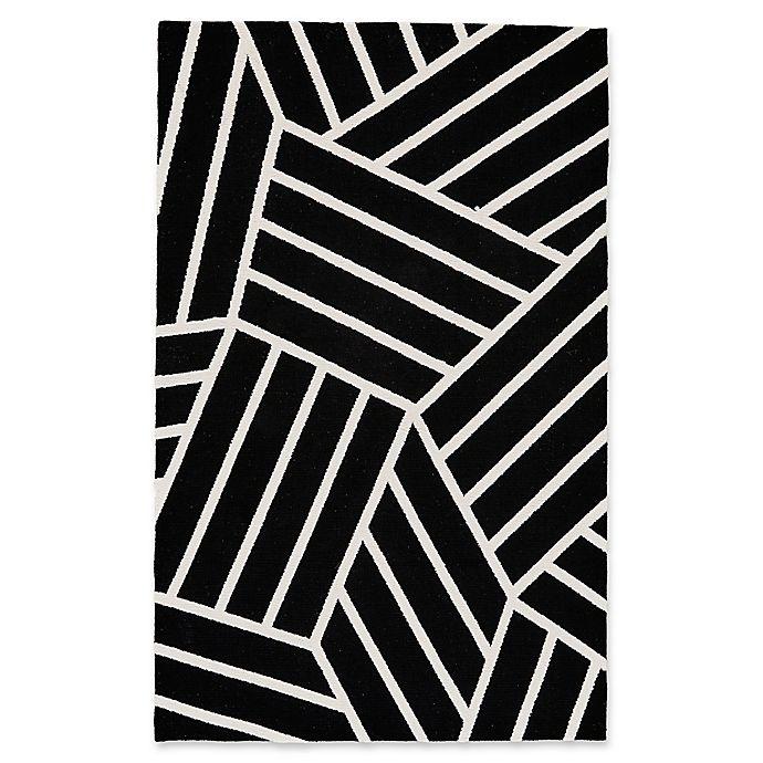 Feizy Aubrey Modern Area Rug In Black