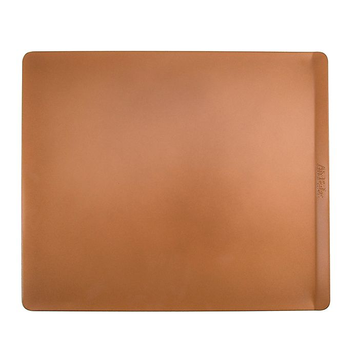 Alternate image 1 for AirBake® Nonstick 14-Inch x 16-Inch Cookie Sheet in Copper