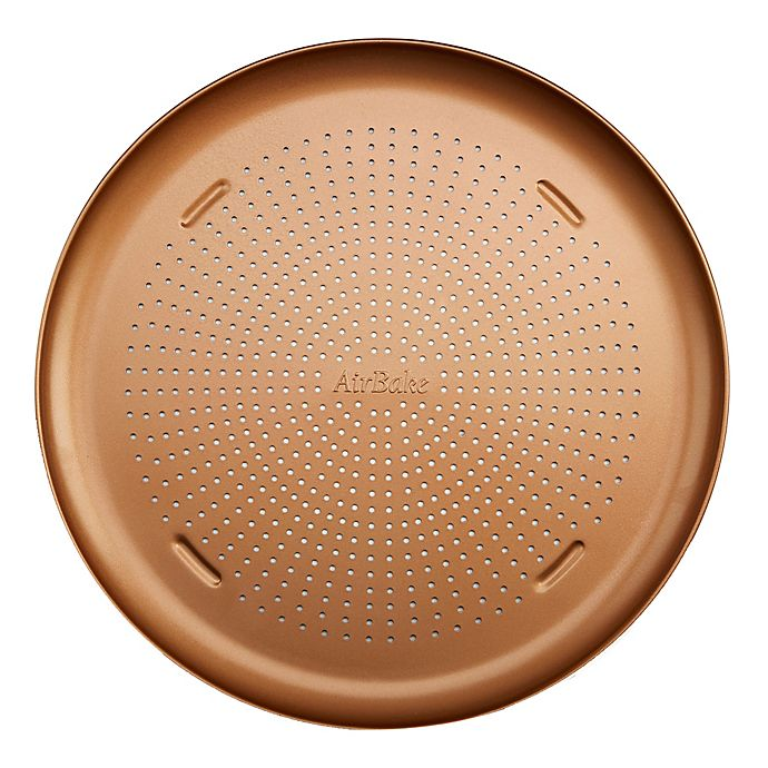 Alternate image 1 for T-Fal® Airbake Nonstick 16-Inch Copper Pizza Pan