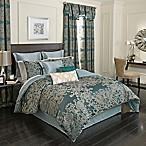 Beautyrest® Alexina 4-Piece Reversible King Comforter Set in Peacock