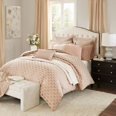 Madison park signature romance comforter set bed bath - Queen bed ideas for small room ...
