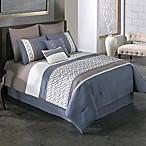 Covington 8-Piece Queen Comforter Set in Blue