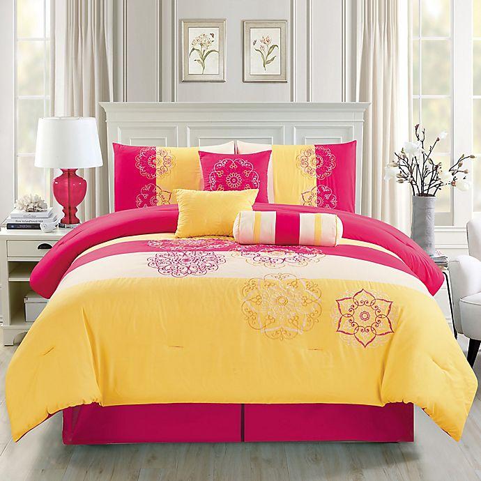 Elight Home Carlotta Comforter Set