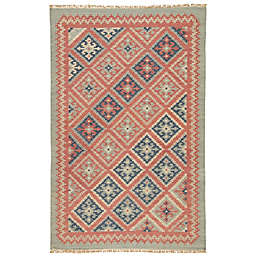 Jaipur Anatolia Ottoman 5-Foot x 8-Foot Rug in Burnt Brick
