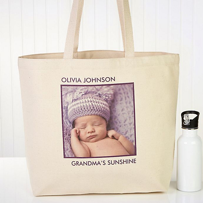 Alternate image 1 for Picture Perfect 1-Photo Tote Bag