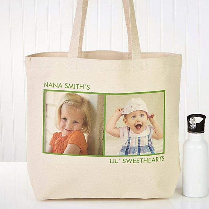 Alternate image 1 for Picture Perfect 2-Photo Tote Bag