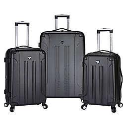 Traveler's Club® Chicago 3-Piece Hardside Spinner Luggage Set