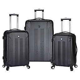 Traveler's Club® Chicago 3-Piece Hardside Spinner Luggage Set