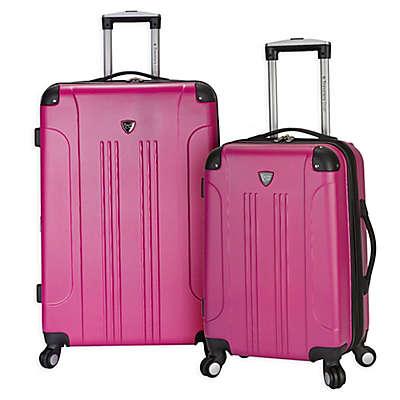 Traveler's Club® Chicago 2-Piece Hardside Spinner Luggage Set