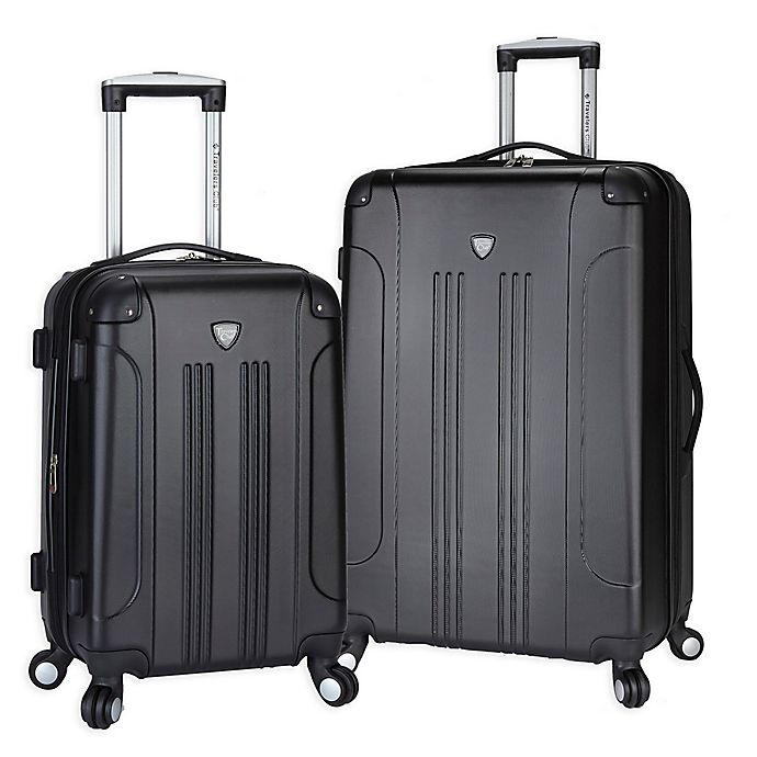 Alternate image 1 for Traveler's Club® Chicago 2-Piece Hardside Spinner Luggage Set
