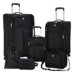 Travelers Club® Hartford 6-Piece Soft Side Luggage Set