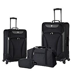Traveler's Club® Augusta 4-Piece Luggage Set