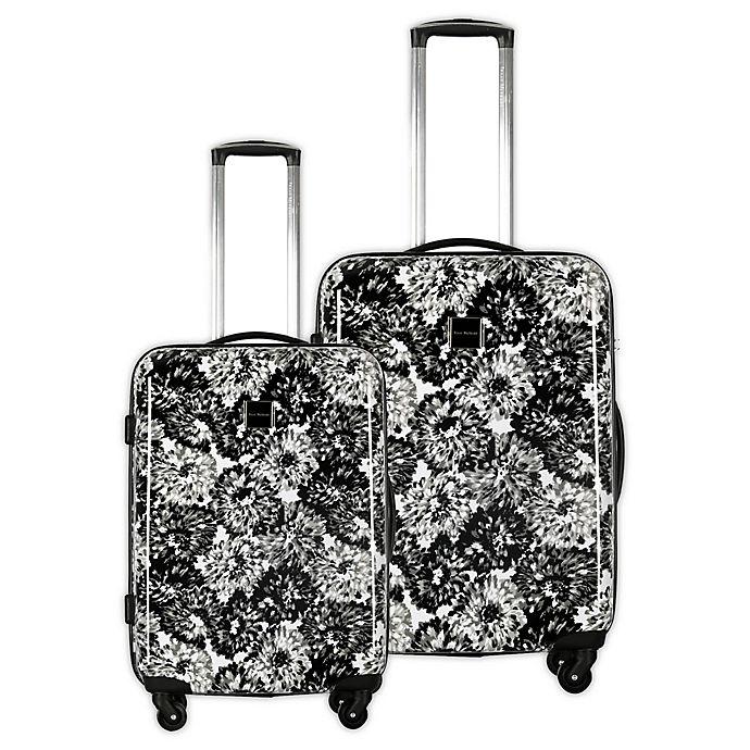 Alternate image 1 for Isaac Mizrahi Boldon Hardside Spinner Checked Luggage
