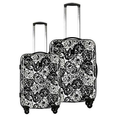 Isaac Mizrahi Boldon Hardside Spinner Checked Luggage