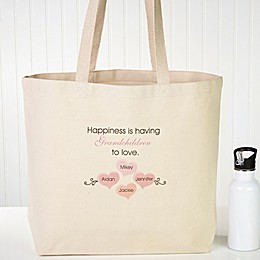 What Is Happiness Canvas Tote